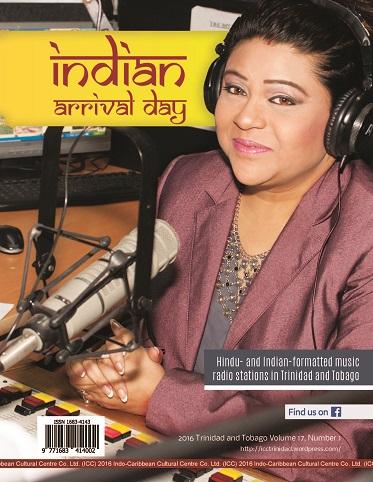 Cover - Indian Arrival 2016 radio magazine