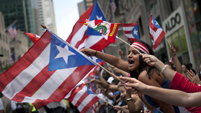 Annual Puerto Rican Day Parade Held In New York City