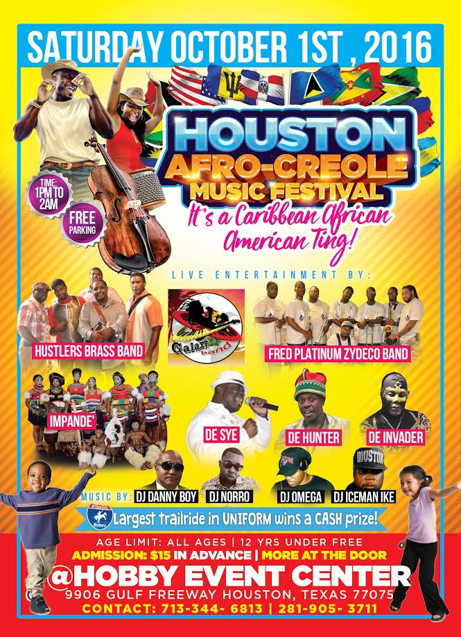 Introducing The Houston Afro Creole Music Festival It S A
