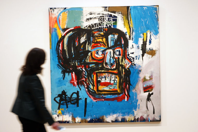 A Basquiat Sells For Mind Blowing 110 5 Million At