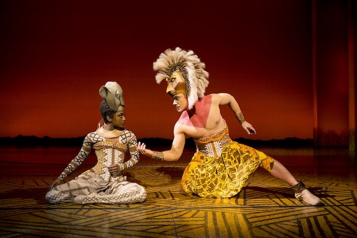 'Can You You Feel The Love Tonight' - Nick Afoa as Simba, Janique Charles as Nala 2017 -®Disney.jpg