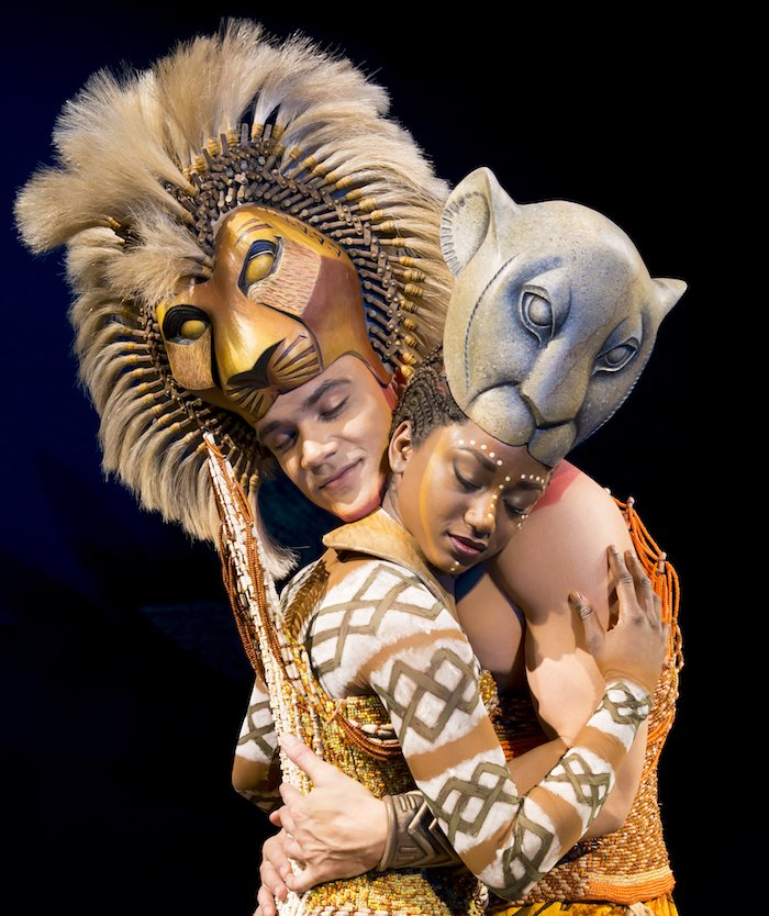 'The Embrace' - Nick Afoa as Simba, Janique Charles as Nala 2017 -®Disney .jpg