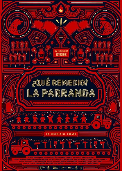 cartel Que remedio La parranda