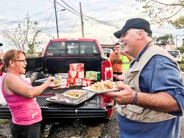 Image result for José Andrés' fed Puerto Ricans