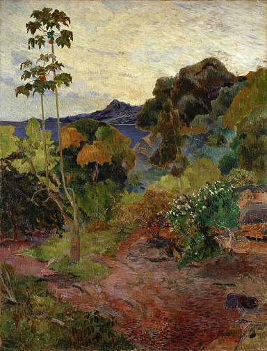 Martinique_Landscape_Paul_Gauguin,_1887