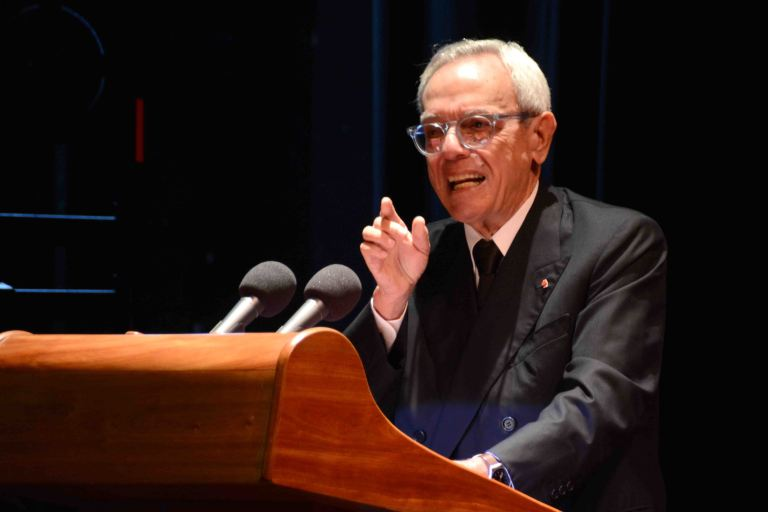 CUBA- LA HABANA- CONCEDEN A EUSEBIO LEAL TÍTULO DOCTOR HONORIS CAUSA EN RELACIONES INTERNACIONALES