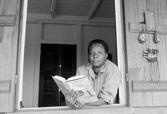 Author Maryse Conde