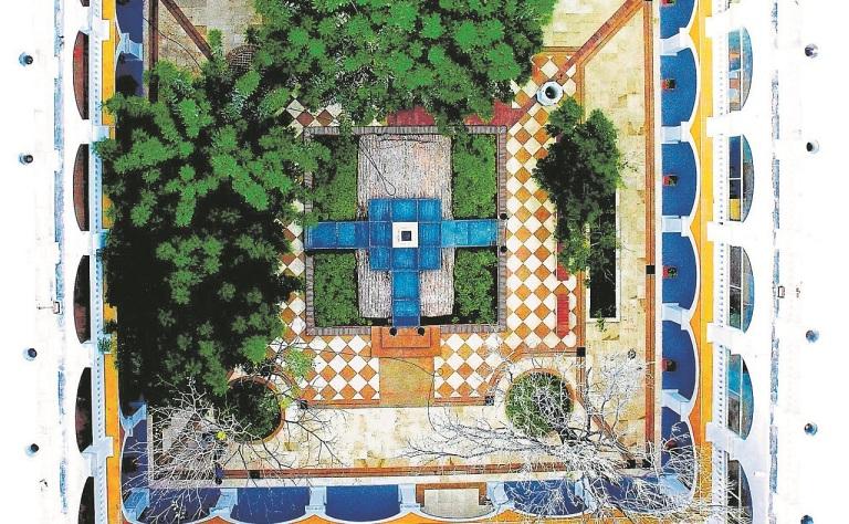 Foto-aérea-del-espacio-cultural-Gabriel-García-Márquez-en-el-Claustro-de-la-Merced-en-Cartagena.jpg