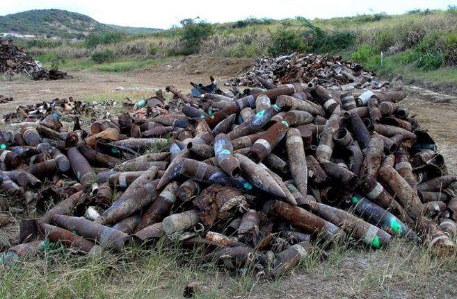 munitions-pile