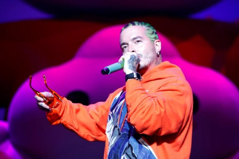 Colombian artist J. Balvin performs in Puerto Rico, San Juan - 30 Aug 2019