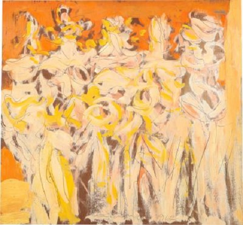 Anthony-Triano-Lysistrata-Oil-painting-by-Anthony-Triano-signed-and-dated-1962-294389-929005