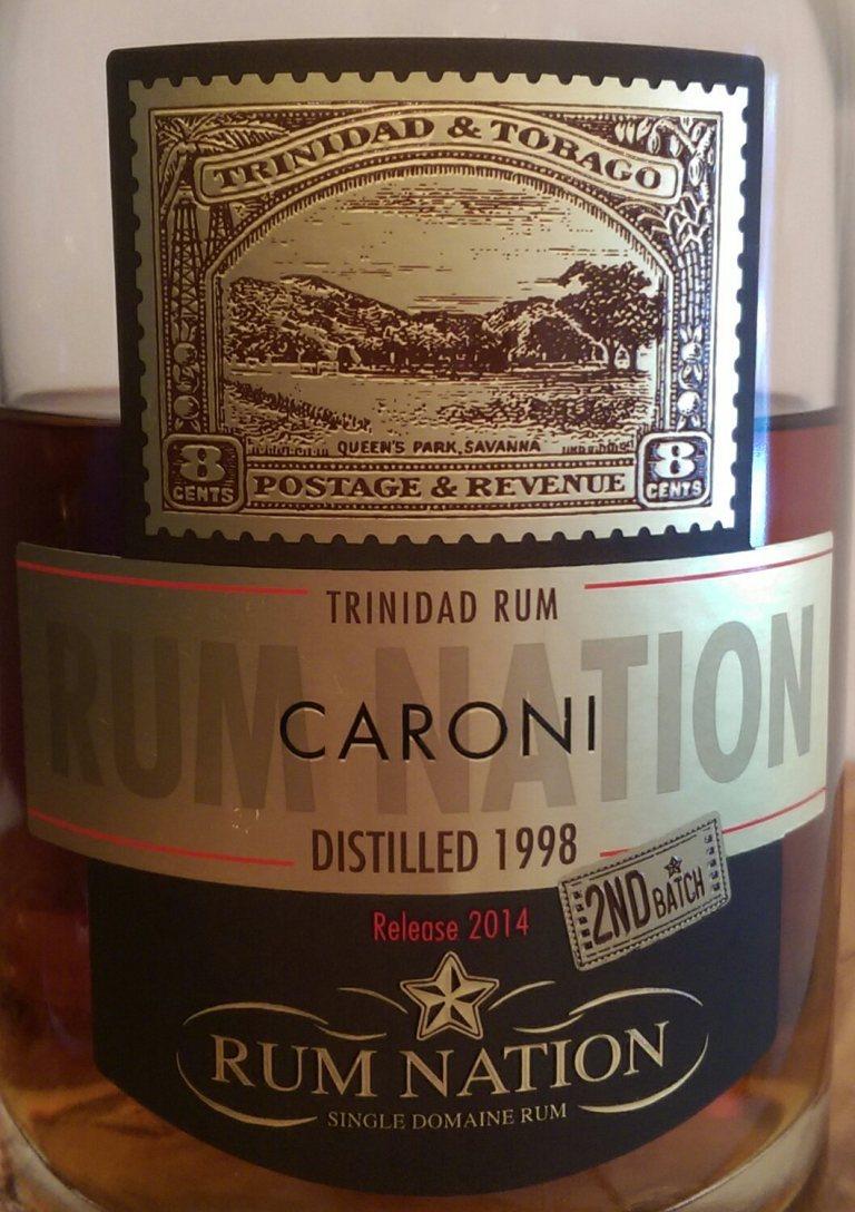 caroni-98-label