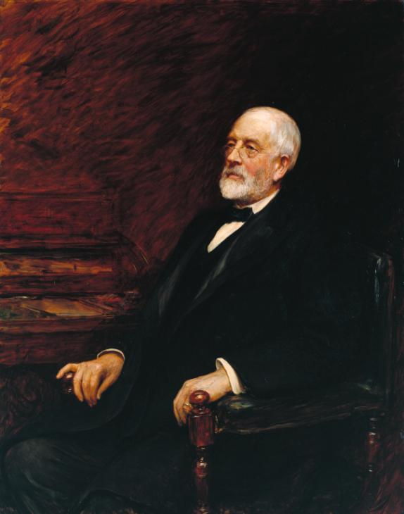 Sir Henry Tate 1897 by Sir Hubert Von Herkomer 1849-1914