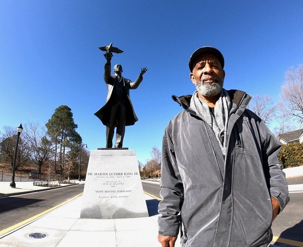 "Jamaican Artist Who Sculpted Atlanta's New MLK Statue Says It Is ""A Dream Come True"" – Repeating Islands"