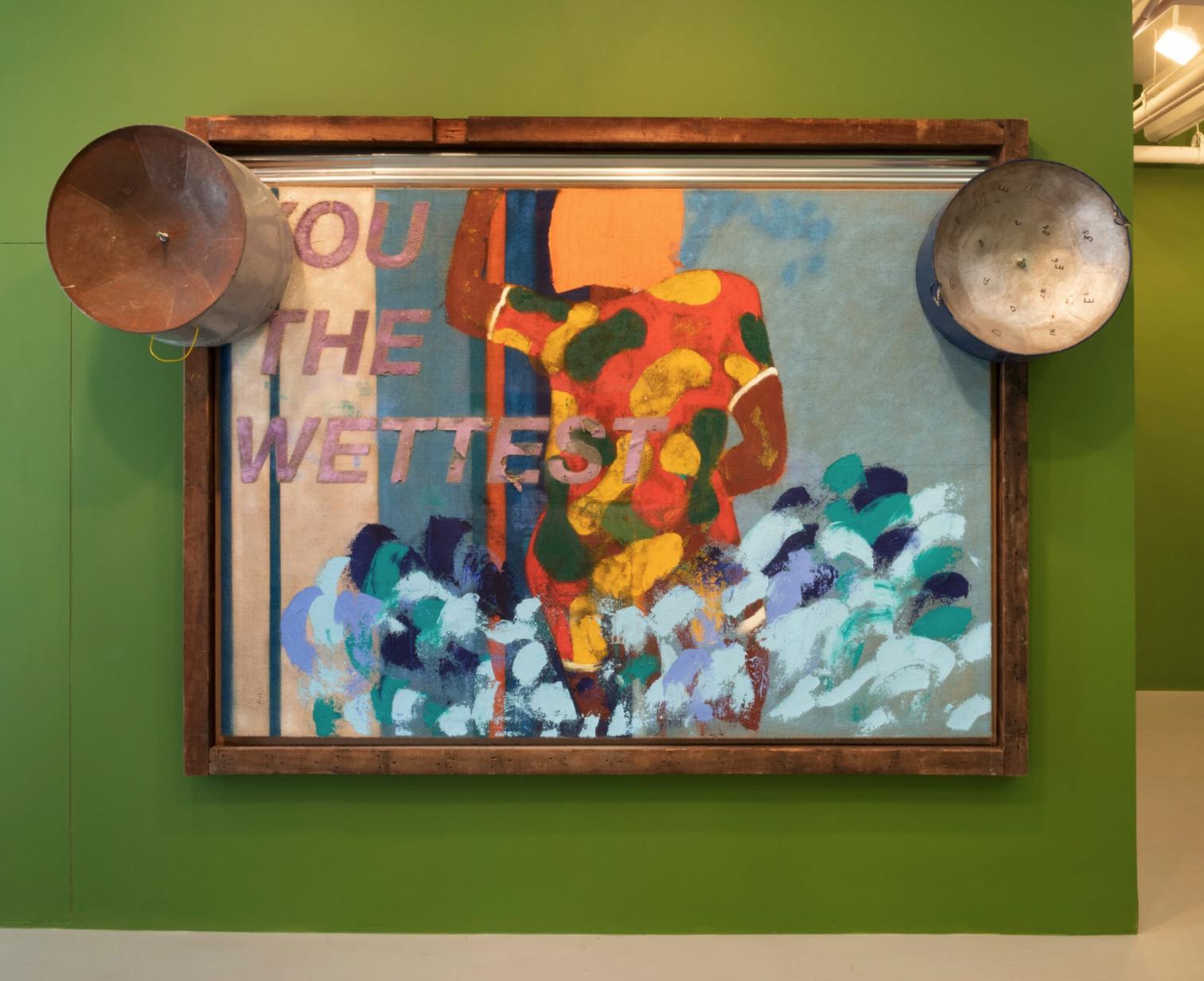 Alvaro Barrington's Neo-Expressionist paintings – Repeating Islands